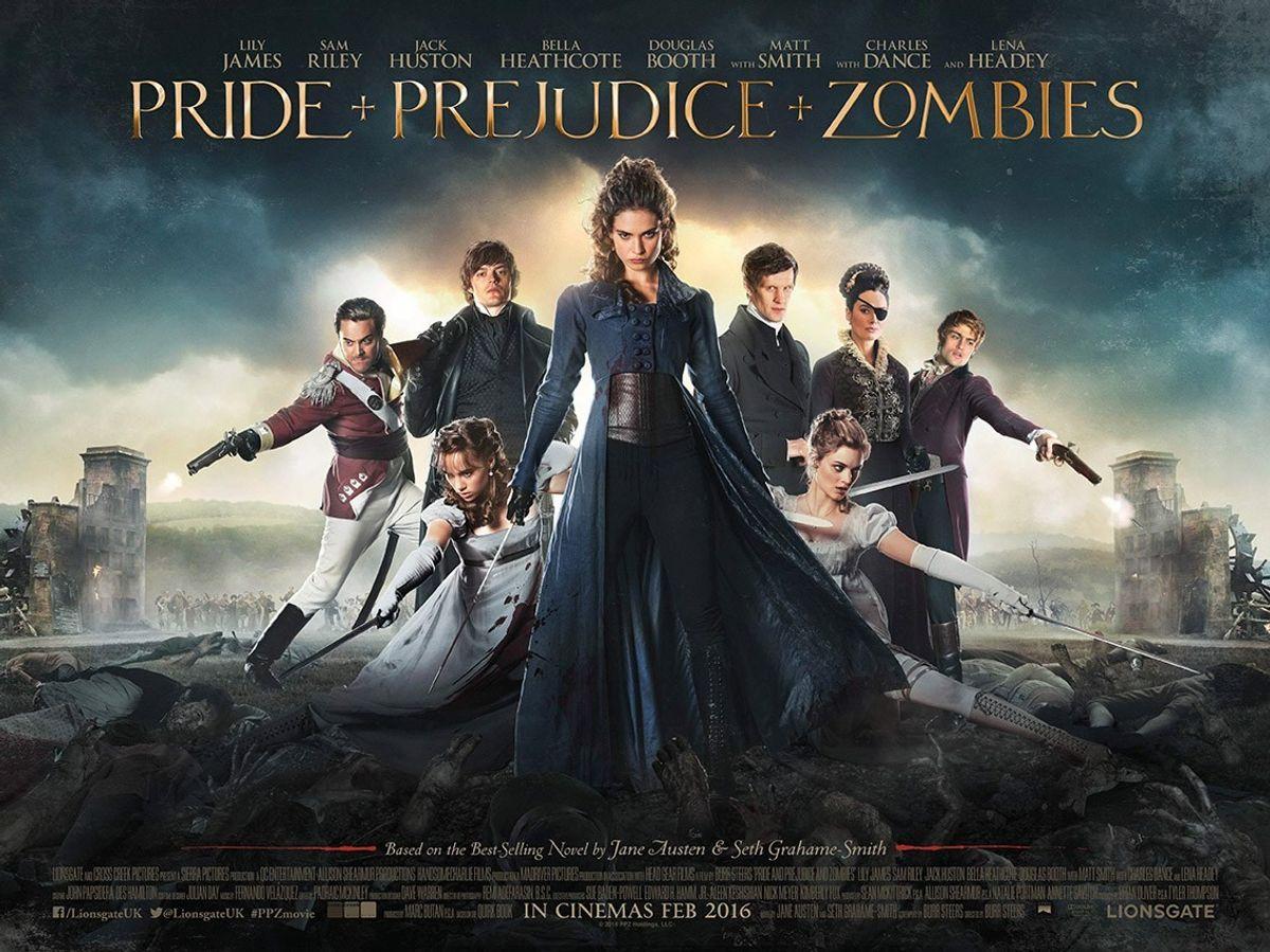 Pride And Prejudice And Zombies: Book vs. Movie