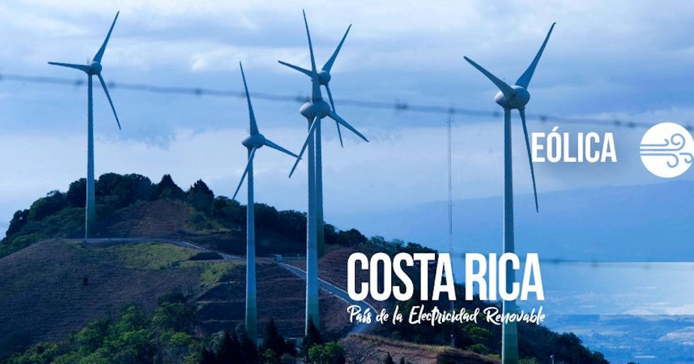Costa Rica Runs Entirely on Renewable Energy for 300 Days