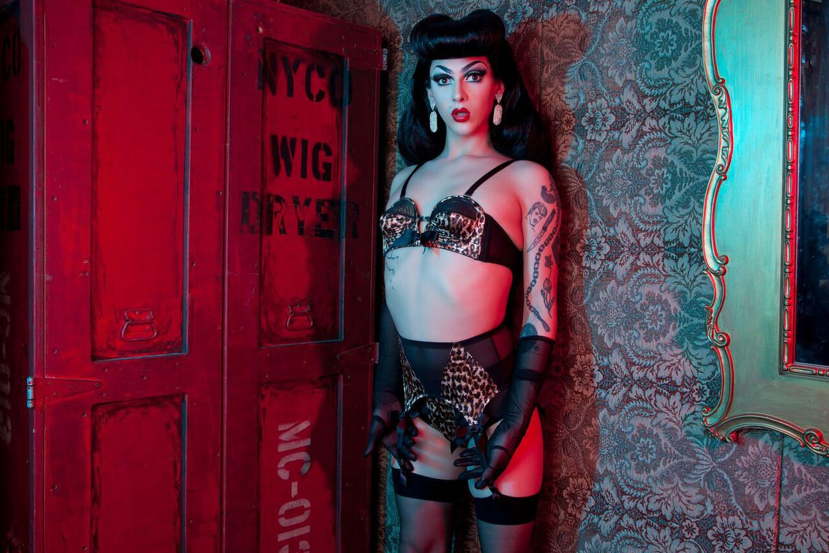 Violet Chachki Is the First Ever Drag Star to Front a Major Lingerie Campaign