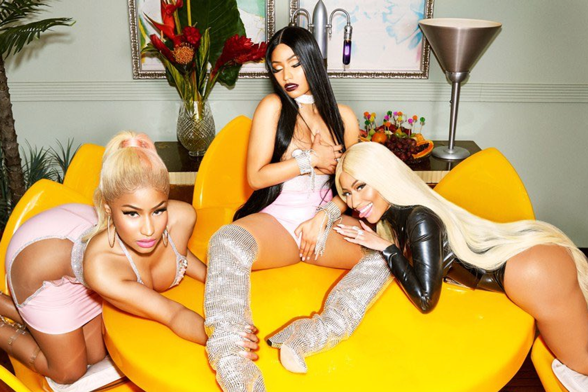 Here Are All Your Must-See Nicki Minaj à Trois Memes
