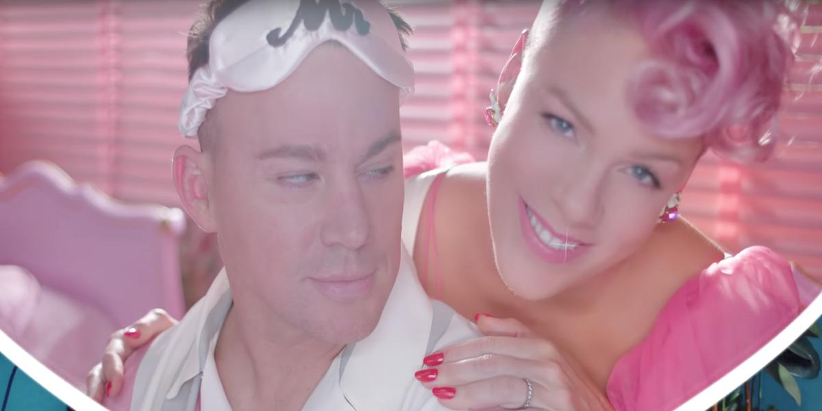 """BDSM, Boners and Channing Tatum Star in Pink's New """"Beautiful Trauma"""" Video"""
