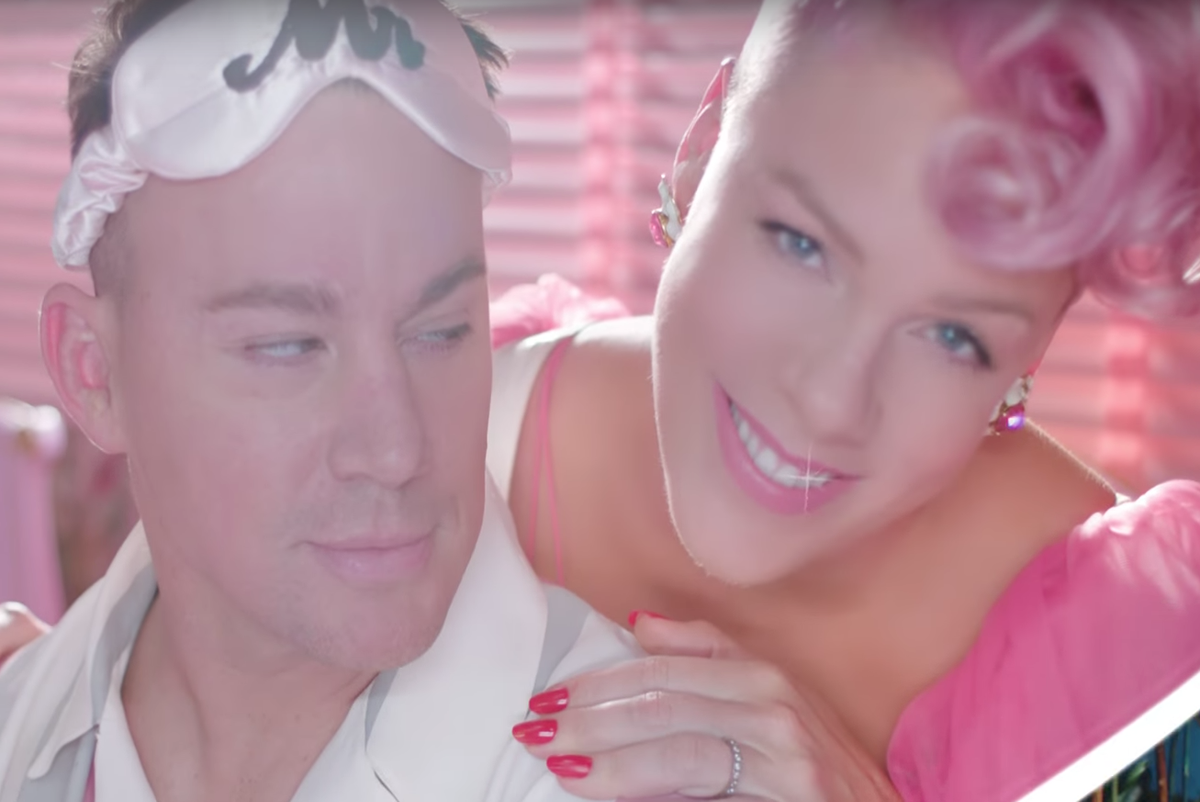 "BDSM, Boners and Channing Tatum Star in Pink's New ""Beautiful Trauma"" Video"