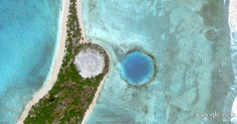 A Tiny Island Used as a Nuclear Dumpsite Is About to Be Submerged by Water