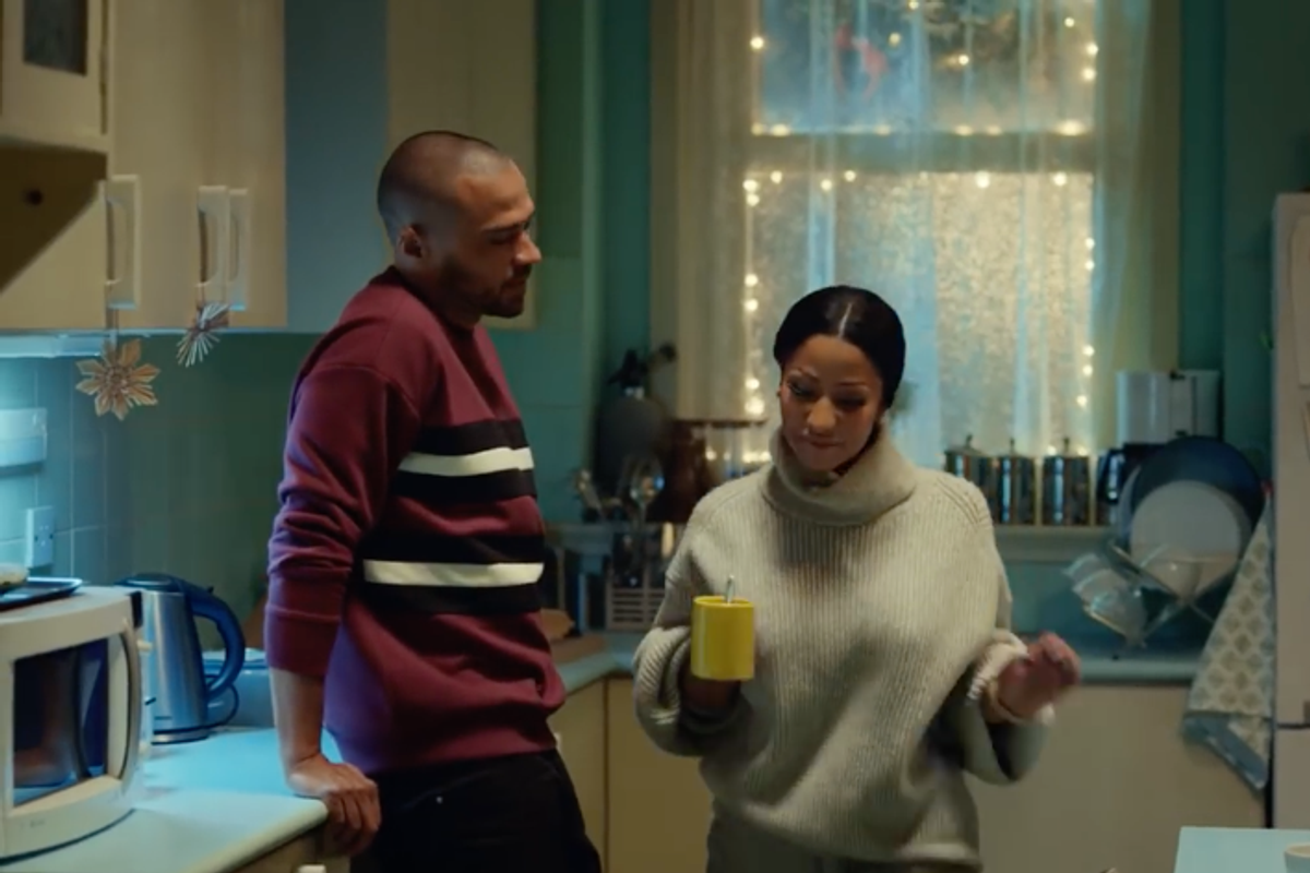 Nick Minaj and Jesse Williams Play Mom and Dad in New H&M Commercial