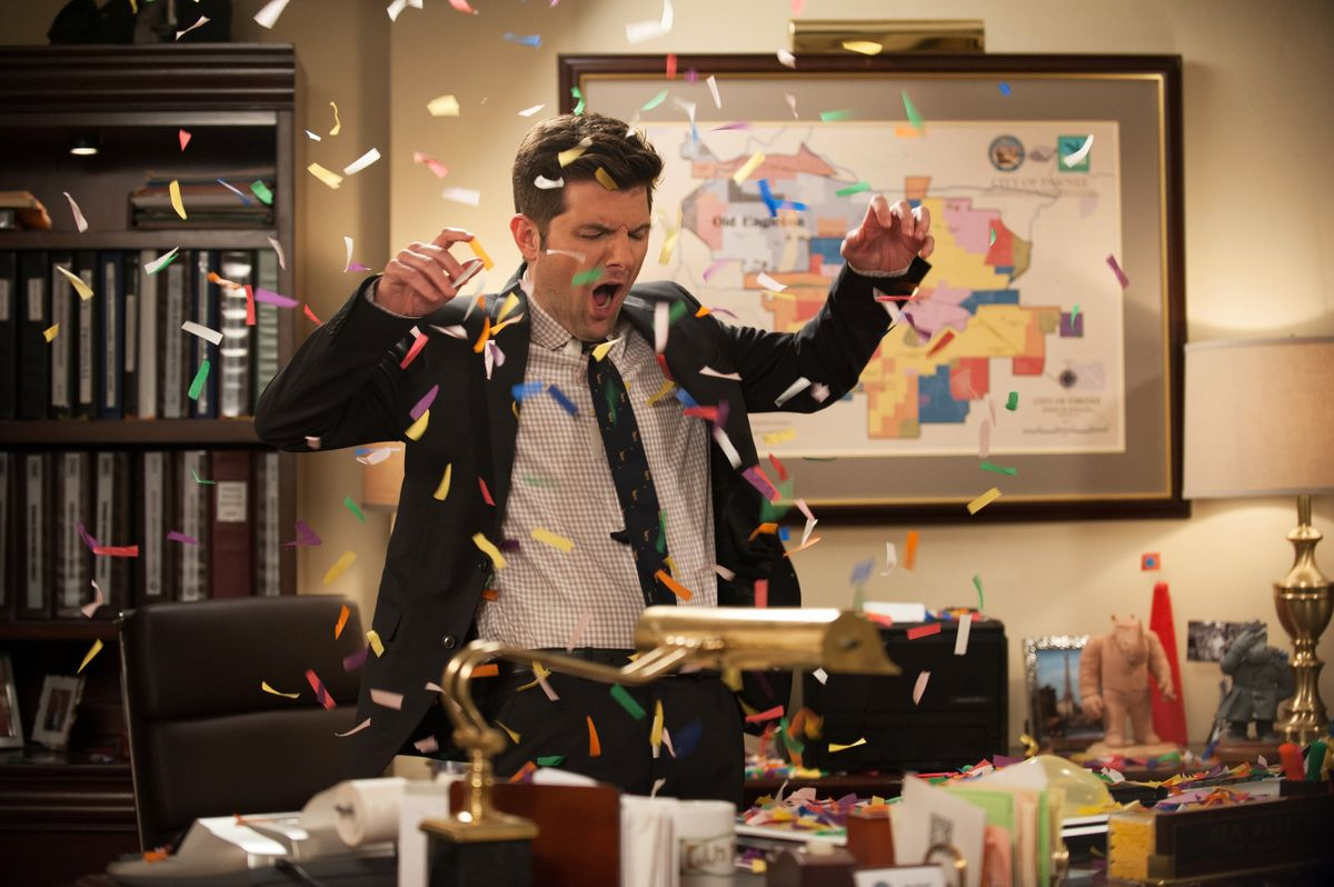 November In College As Told By 'Parks And Recreation'