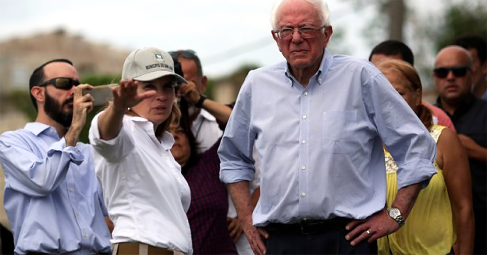 Sanders Introduces $146 Billion 'Transformation Blueprint' for Puerto Rico and Virgin Islands