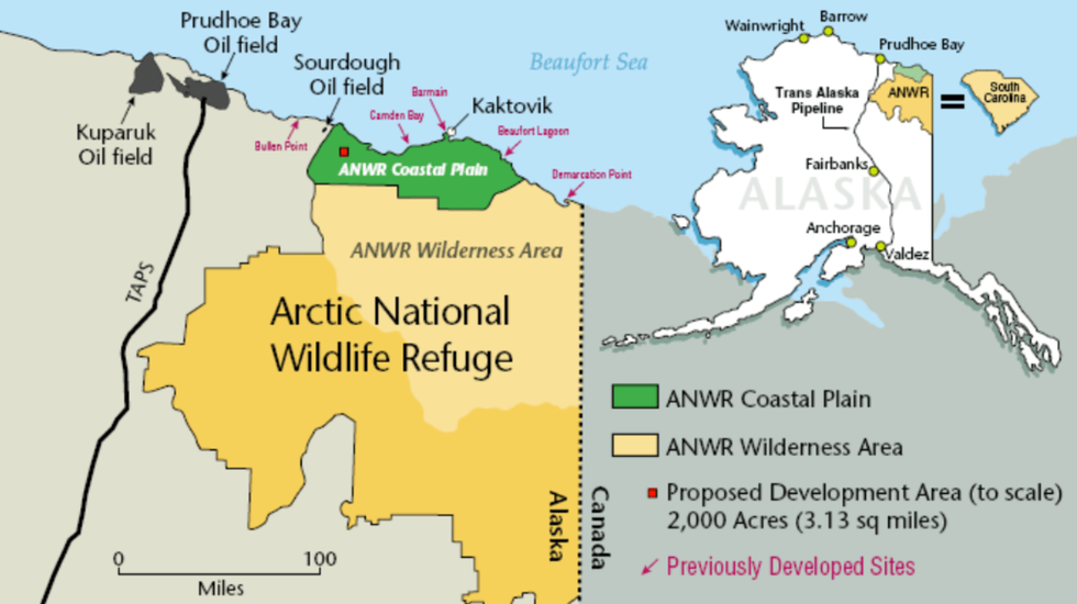ANWR Drilling Effort Hits Snag: 'This Is What Happens When You Sneak Drilling Into a Terrible Tax Bill'
