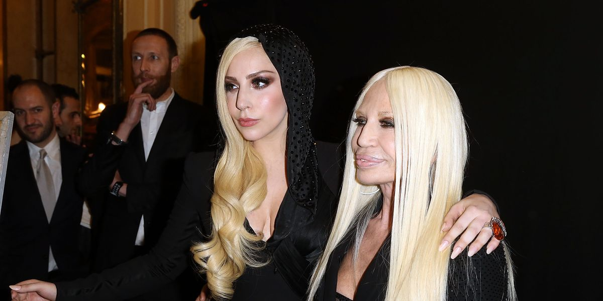 """Donatella Versace Will Receive the British Fashion Council """"Icon"""" Award"""
