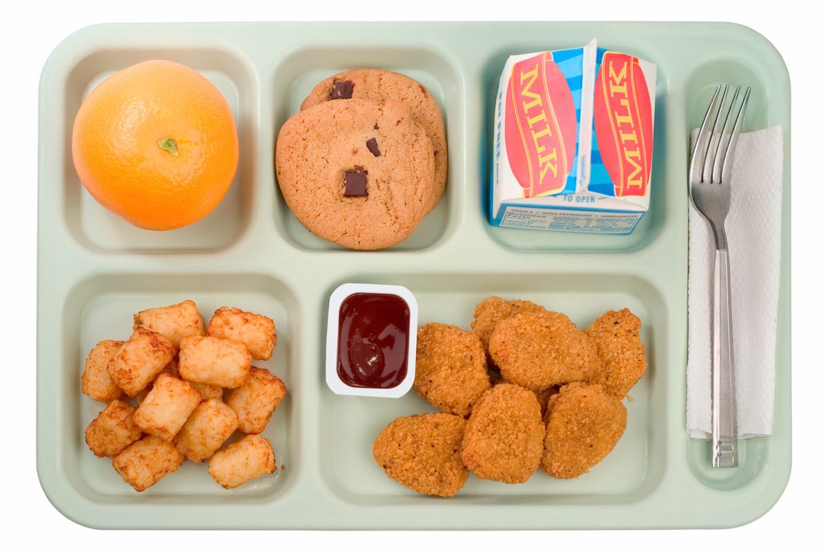 You Are What You Eat: What are K-12 Public School Students Eating?