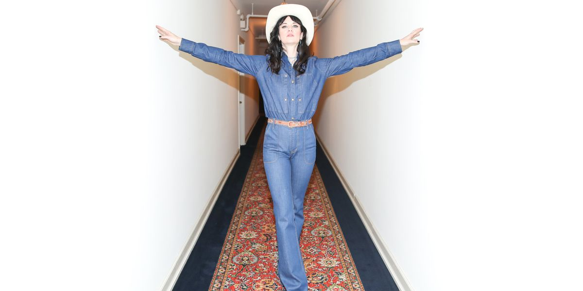 Country Star Nikki Lane Performs at Land of Distraction's LA Launch