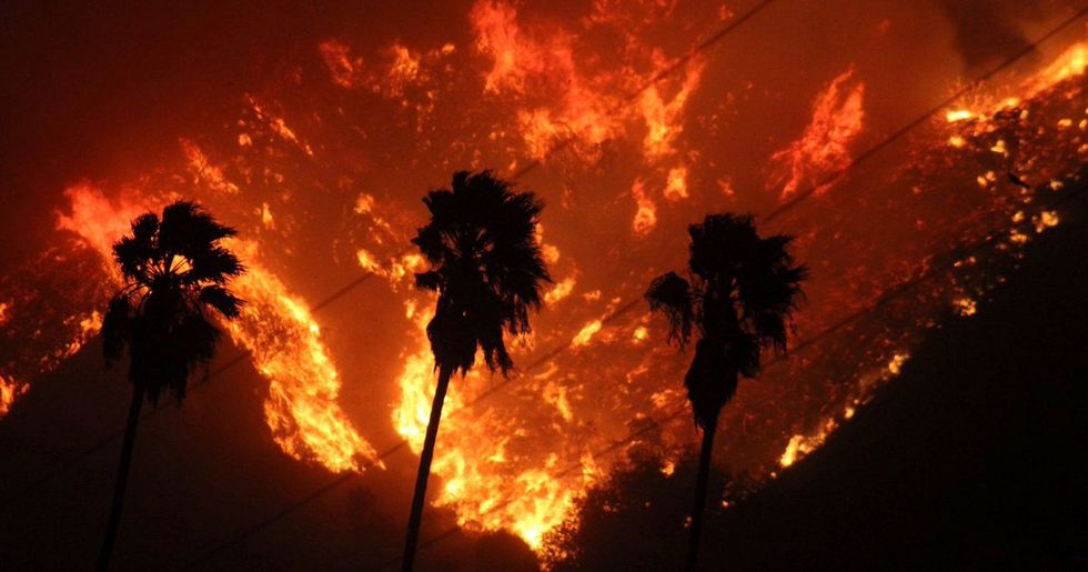 'The Fire Is Still Out of Control': Fast-Moving Wildfire Burns in Southern California