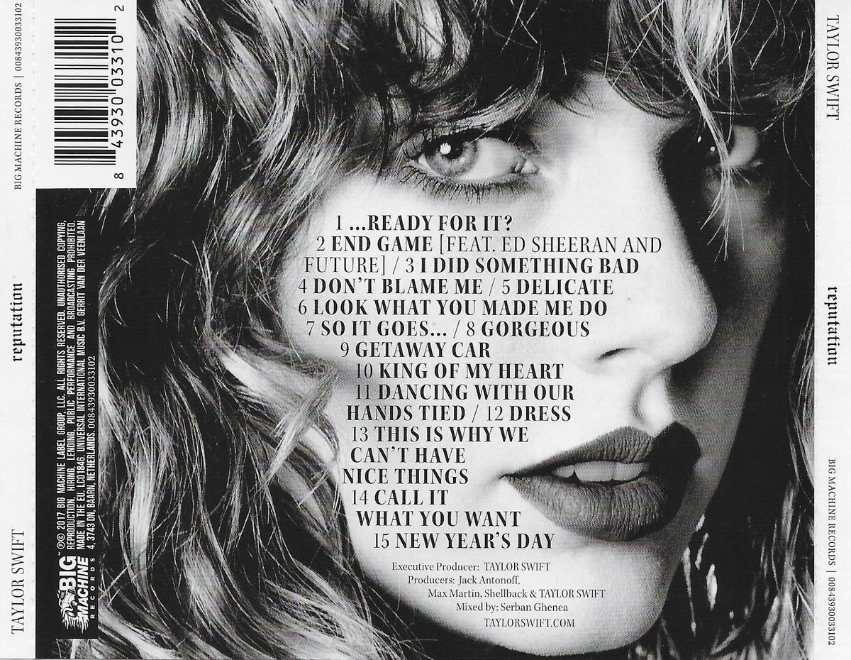 The Best Lyrics Of Taylor Swift's Reputation
