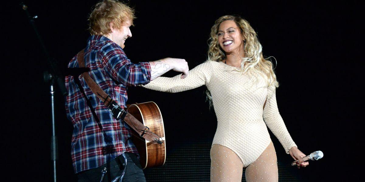 Ed Sheeran Says Beyoncé Changes Her Email Address Every Week