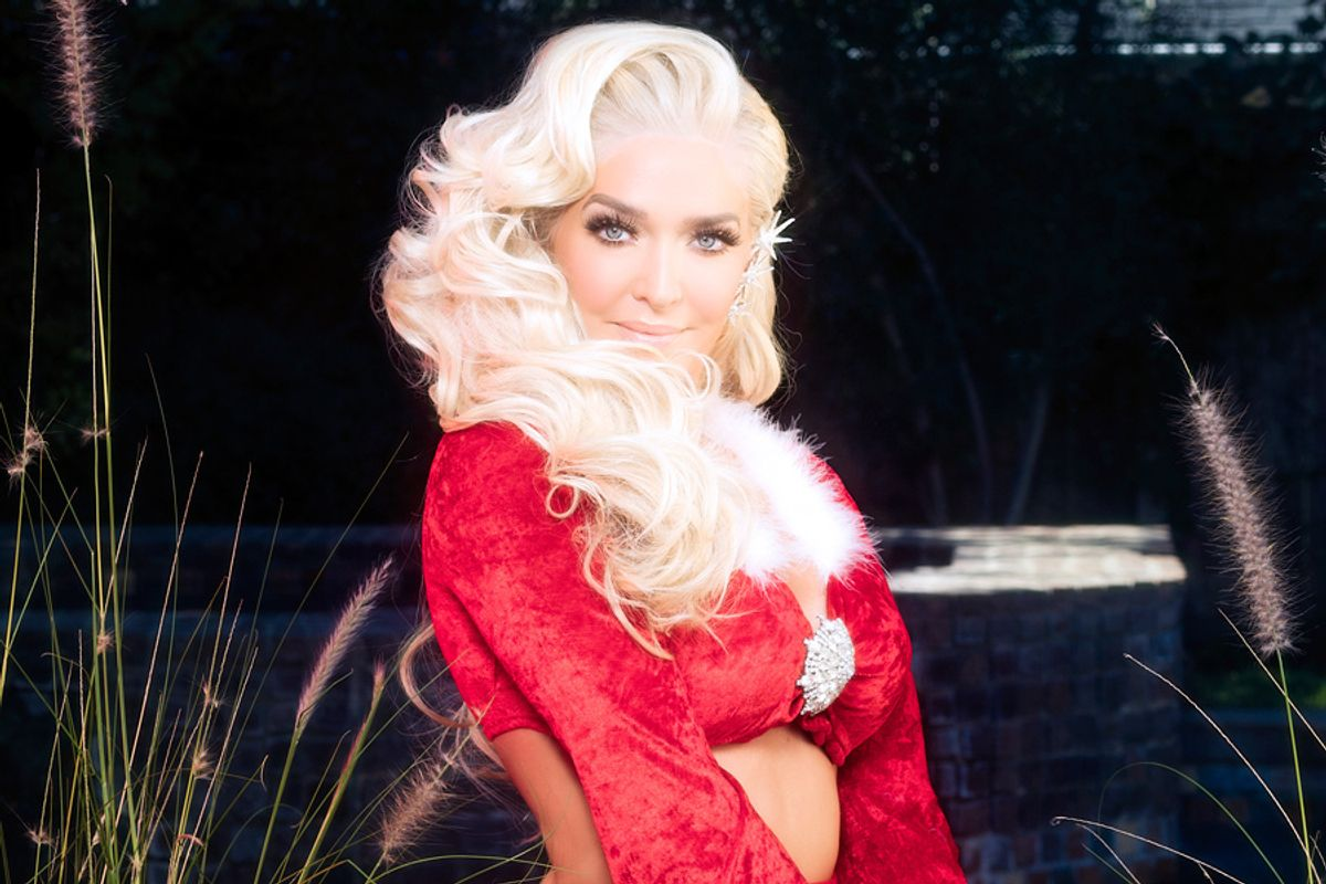 Slay Belles: Real Housewife Erika Jayne Gets Festive For the Holidays