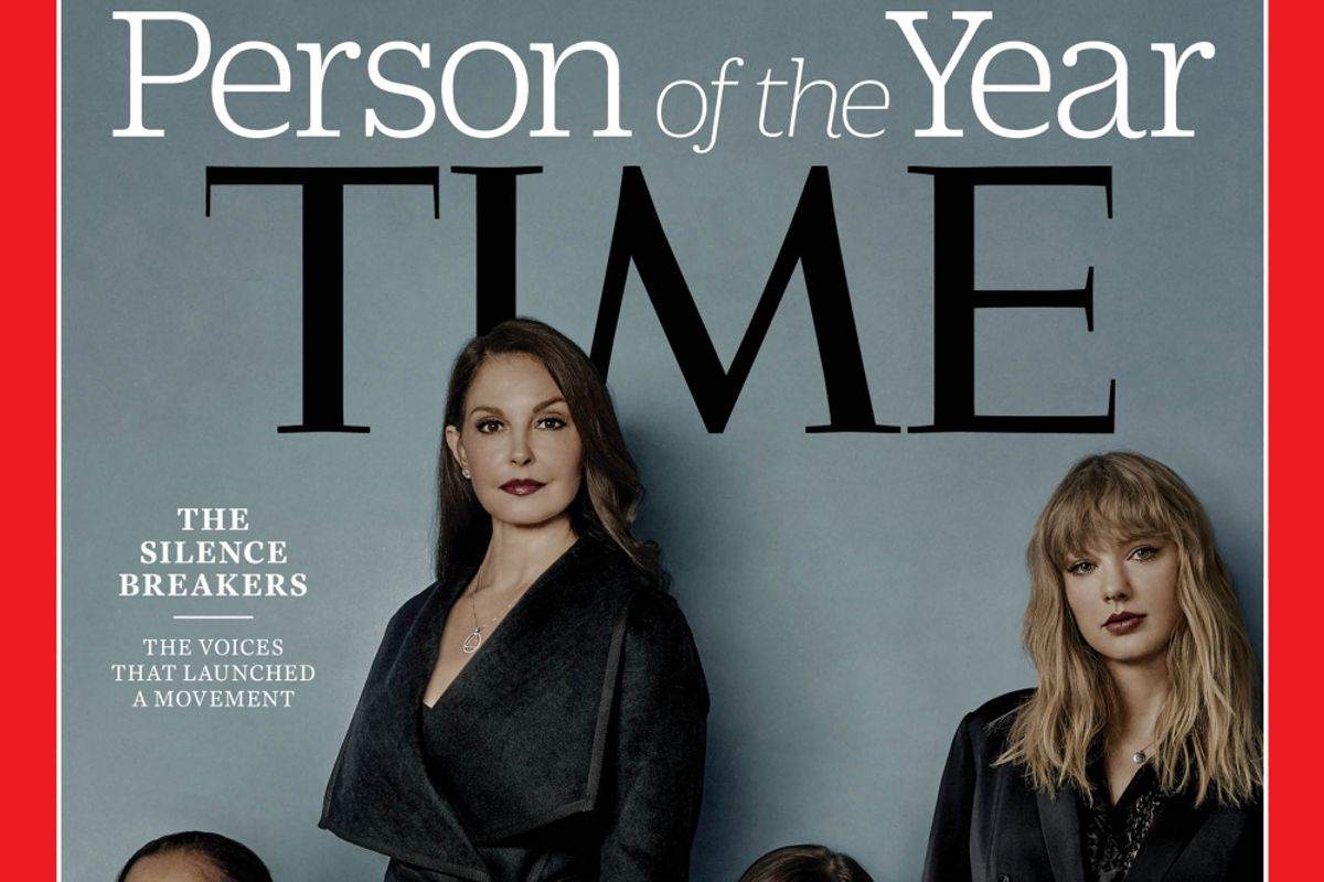 Taylor Swift, Rose McGowan & More Survivors Named TIME 'Person of the Year'
