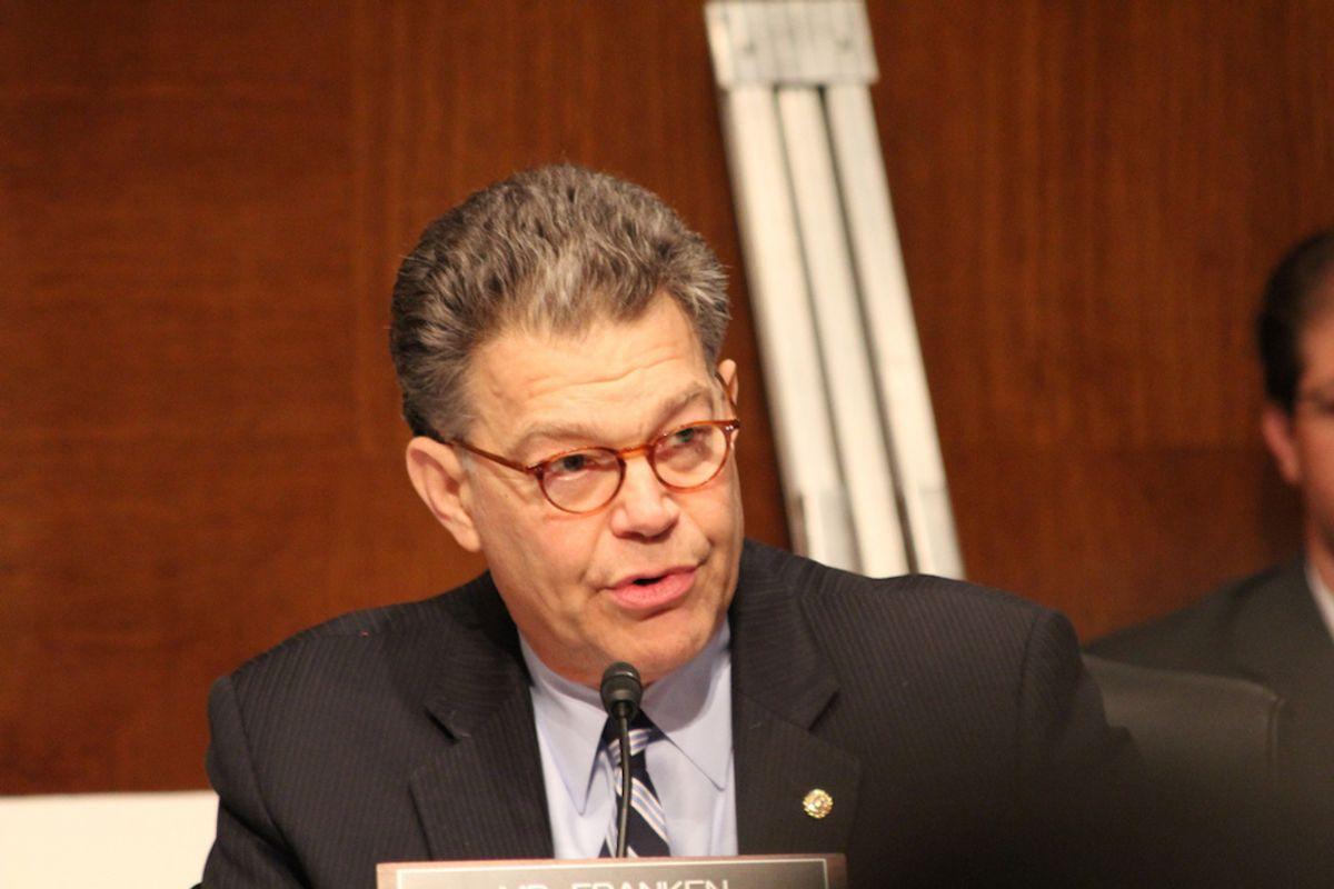 The Witch Hunt Of Senator Al Franken