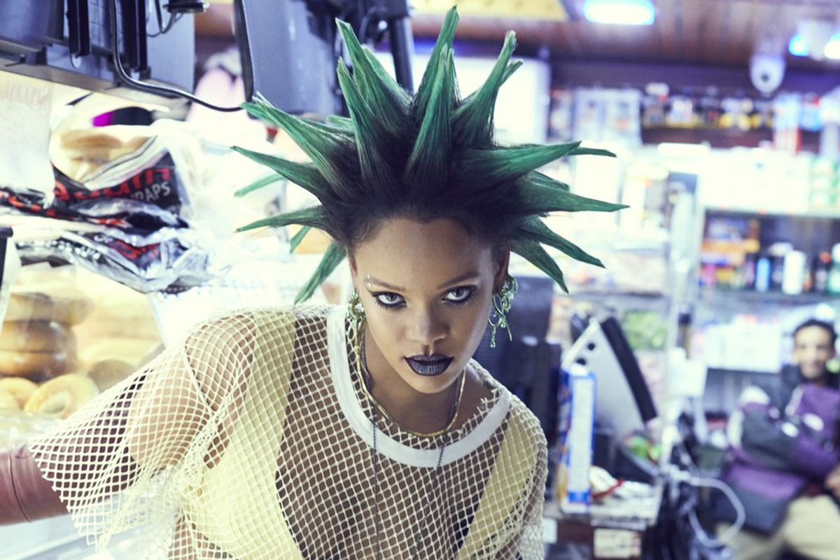 Photographer Shares Previously Unseen Photos From Rihanna's 'ANTI' Era