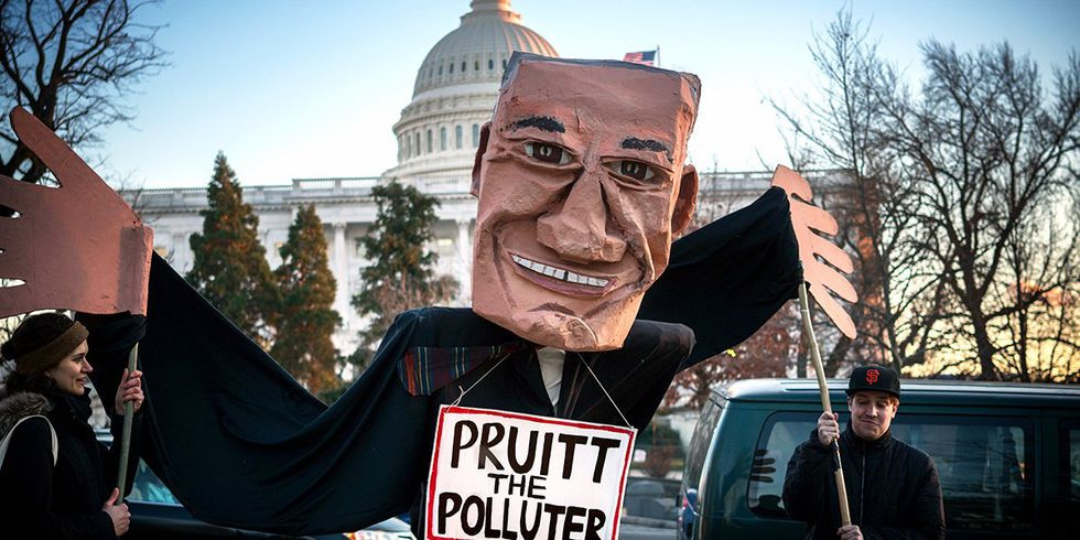The Mission of Scott Pruitt: End the EPA as We Know It