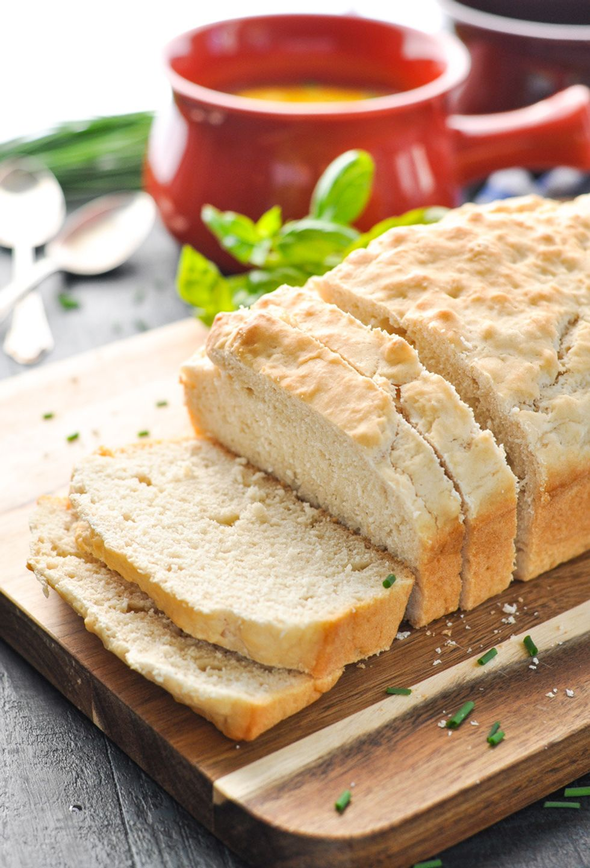No-Knead 3-Ingredient Beer Bread - My Recipe Magic