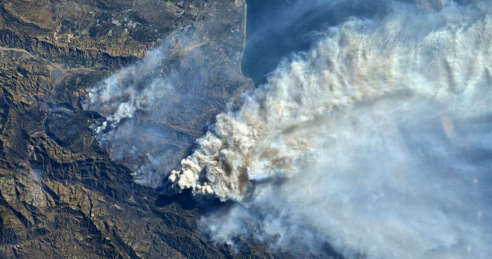 A Mix of Unusual Forces Is Fueling Southern California's Fires