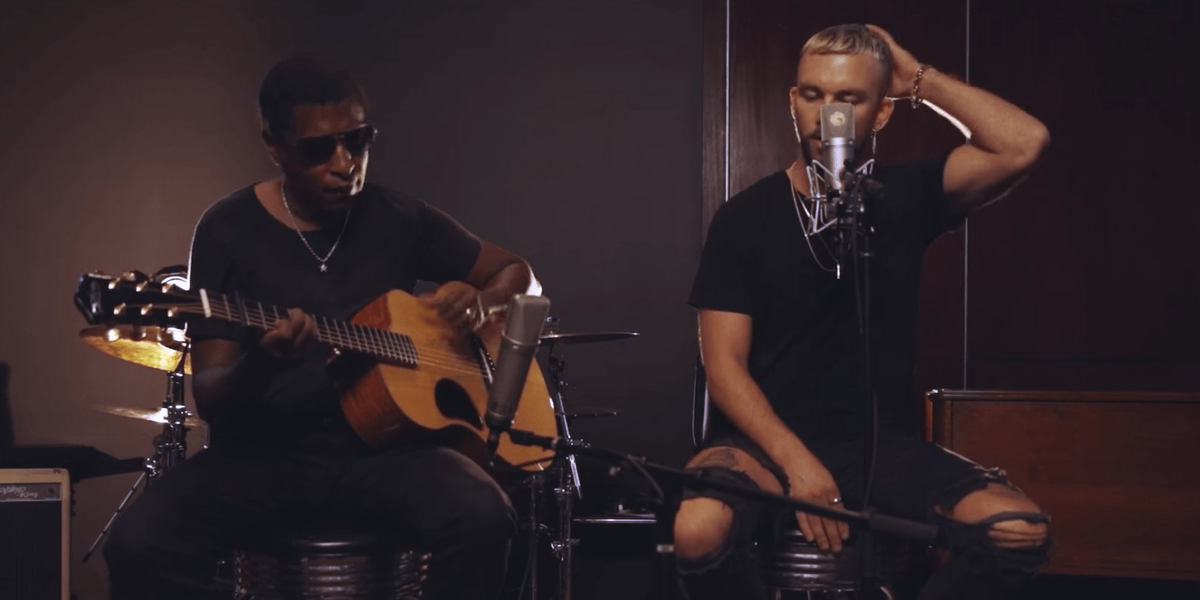 Babyface Joins Vancouver Rapper SonReal for Intimate Acoustic Tribute