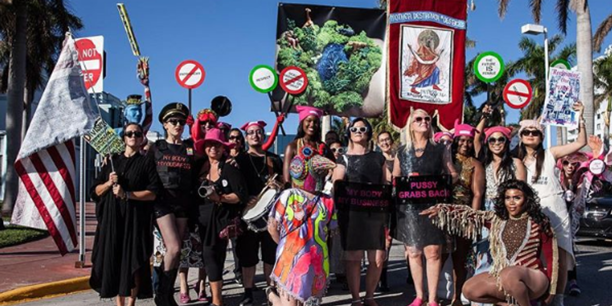 The 'Parade Against Patriarchy' Makes a Statement at Art Basel