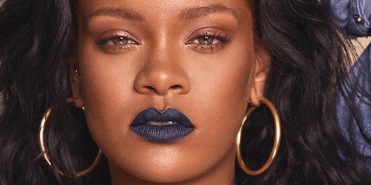 Rihanna Announces & Models New Fenty Beauty Lipstick Shades