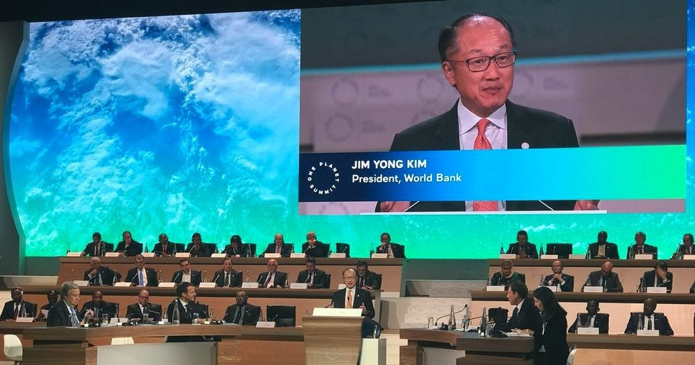 One Planet Summit: World Bank to Stop Financing Oil, Gas Projects