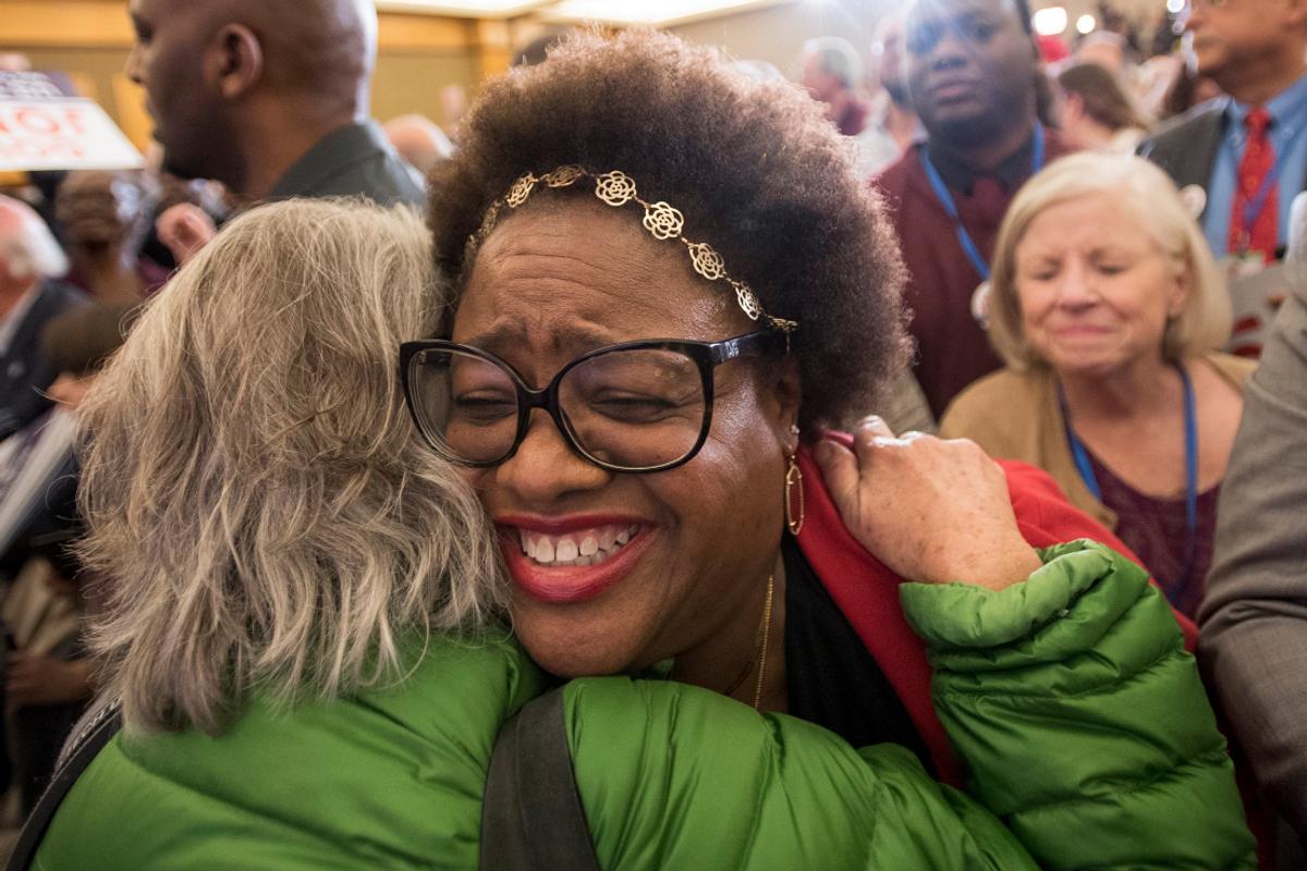 Black Women Saved America Last Night, Again