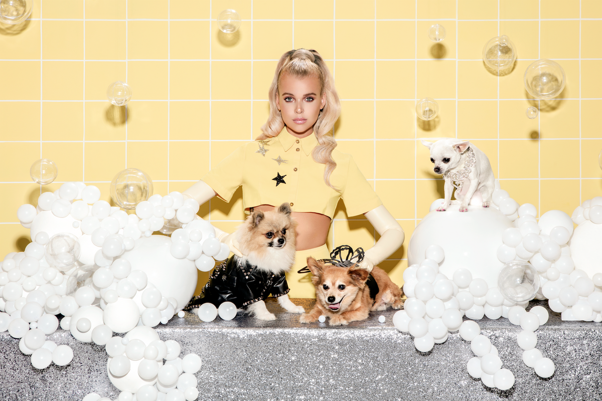 Christian Cowan's Cruelty-Free Canine Couture