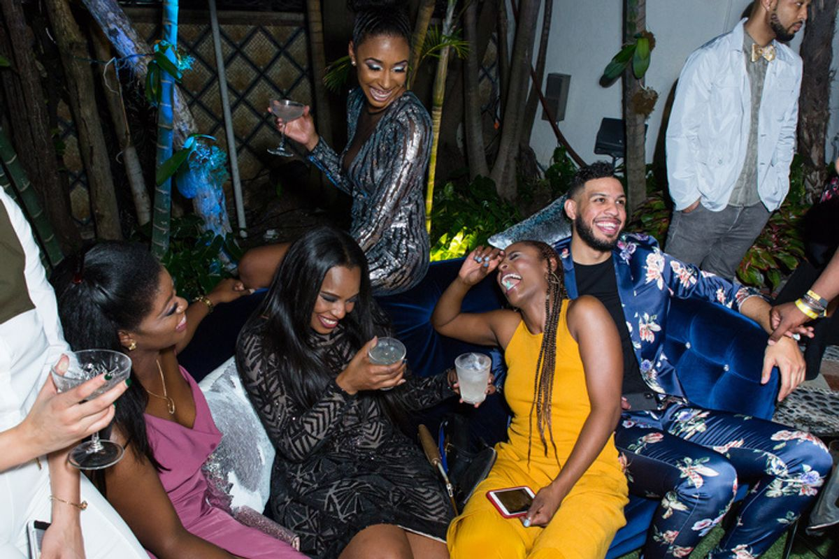 Issa Rae Steals the Show at Versace Mansion