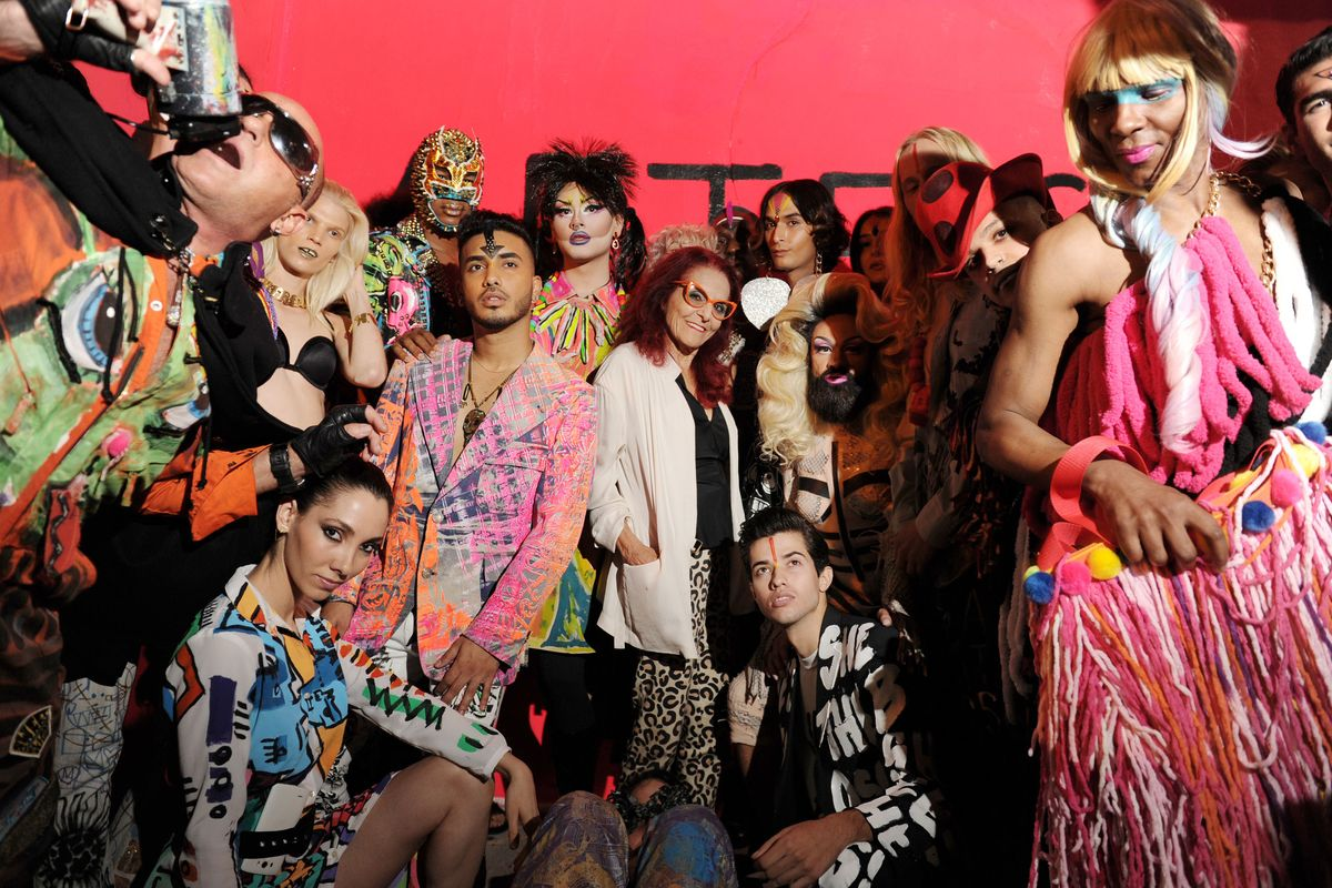'Sex and the City' Costumer Designer Patricia Field Throws Electric Runway Show