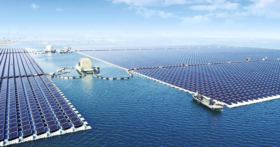 China Building Second Enormous Floating Solar Farm on Top of Defunct Coal Mine