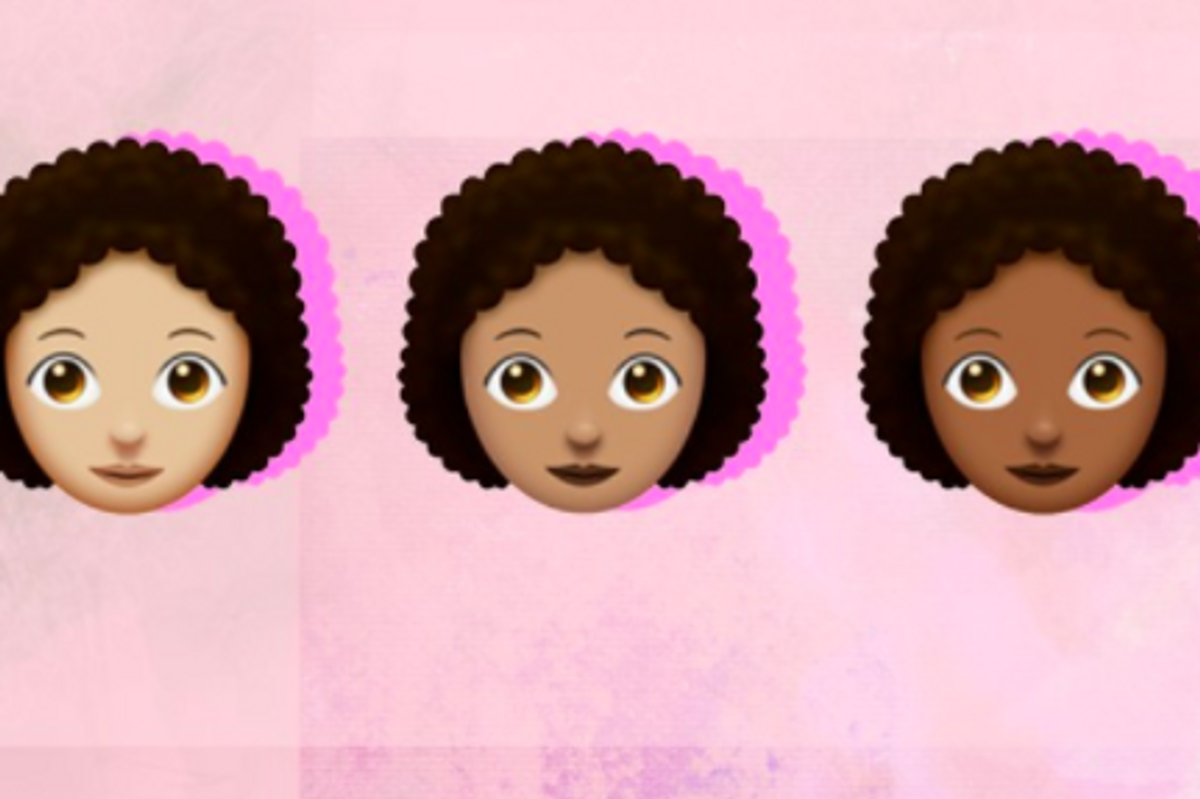 The Long-Awaited 'Afro Emoji' Has Been Met with Mixed Emotions