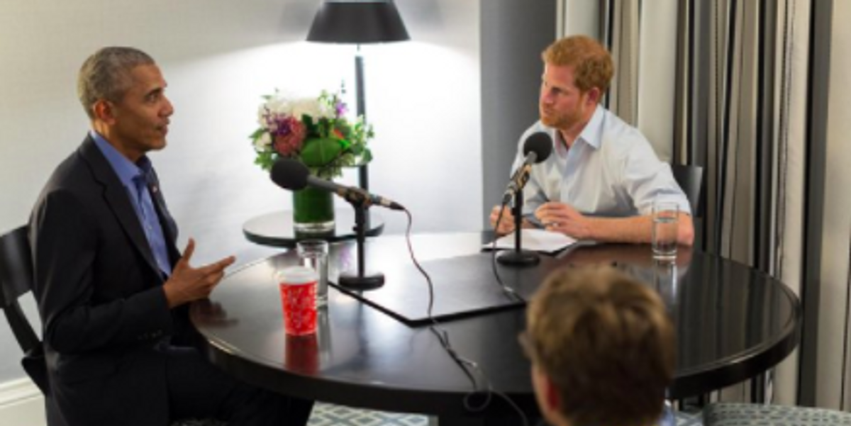 Prince Harry Interviewing Obama Is Pretty Adorable
