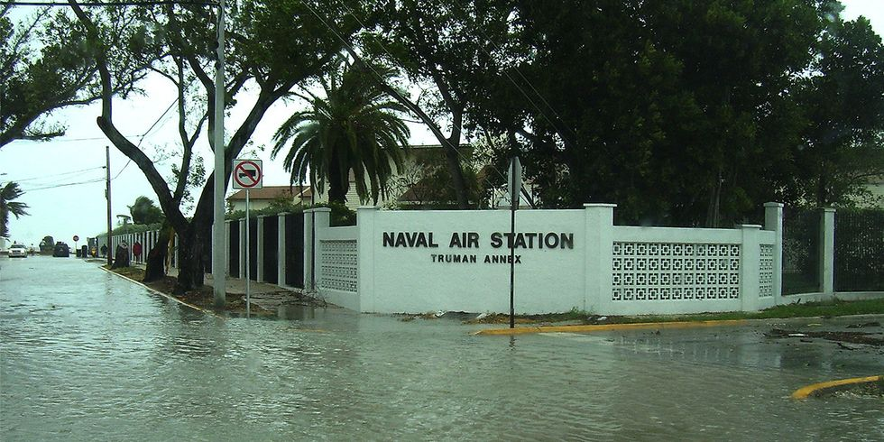 Climate Change Already Hampers U.S. Military Sites Around the World, Government Study Finds