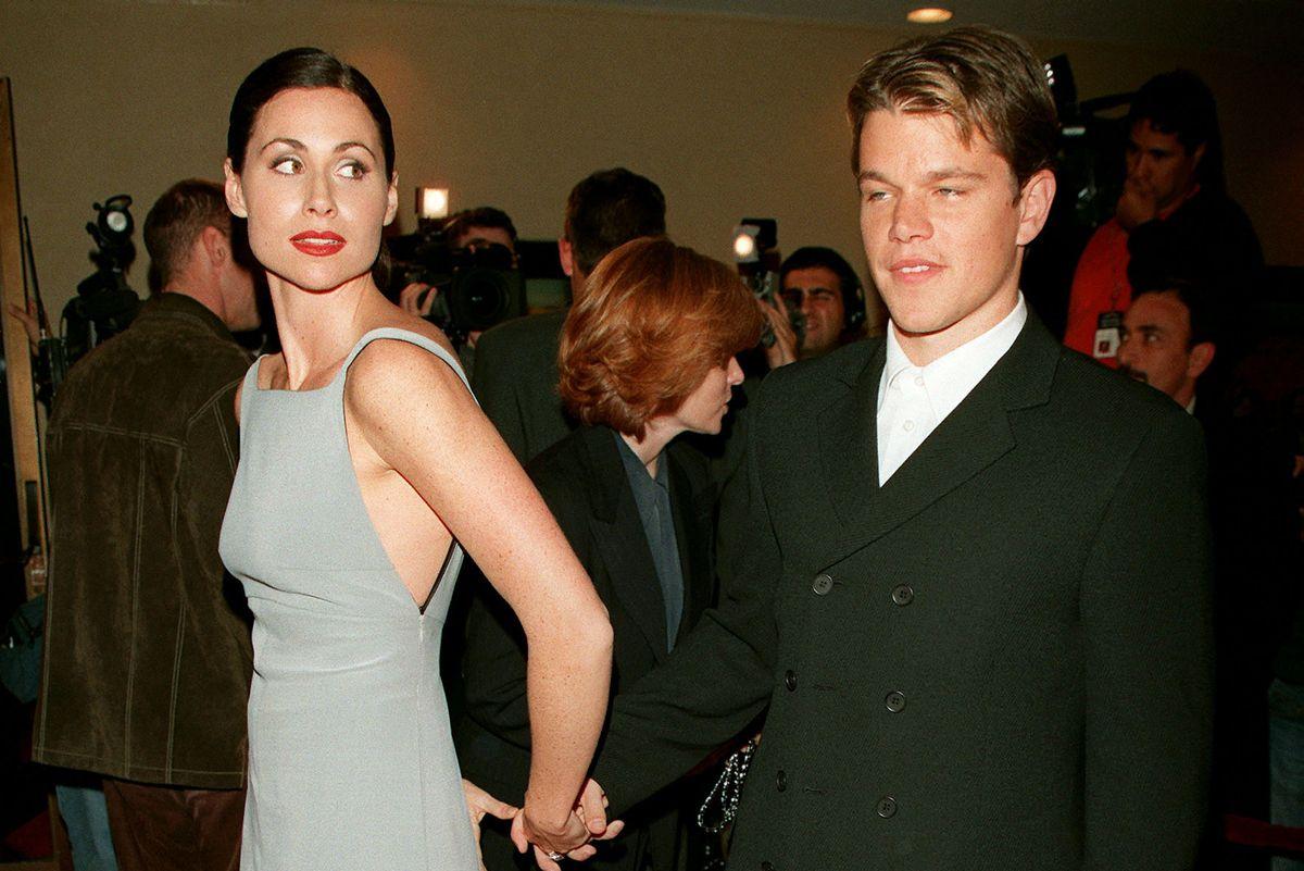 Minnie Driver Blasts Ex-Boyfriend Matt Damon Over Sexual Assault Comments