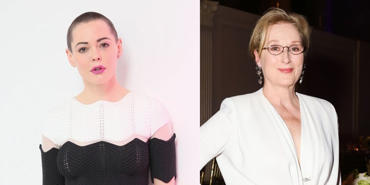 Rose McGowan Comes After Meryl Streep: 'You Are Such a Lie'