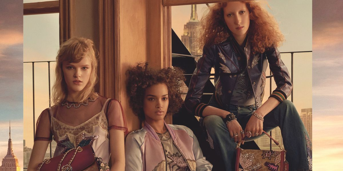 Coach's Spring '18 Campaign is a Gritty, Glam Ode to New York