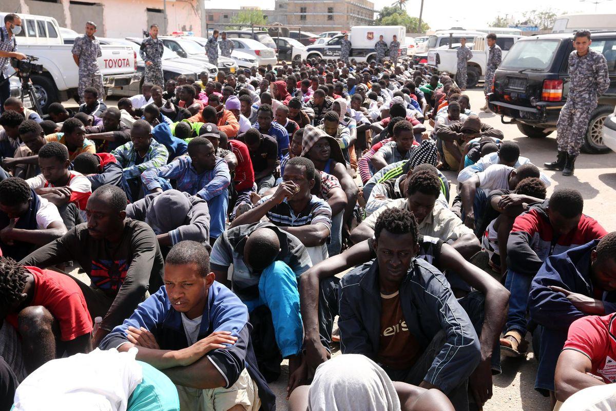 Slavery In Libya.