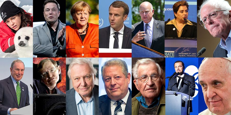 14 Notable Climate Influencers of 2017