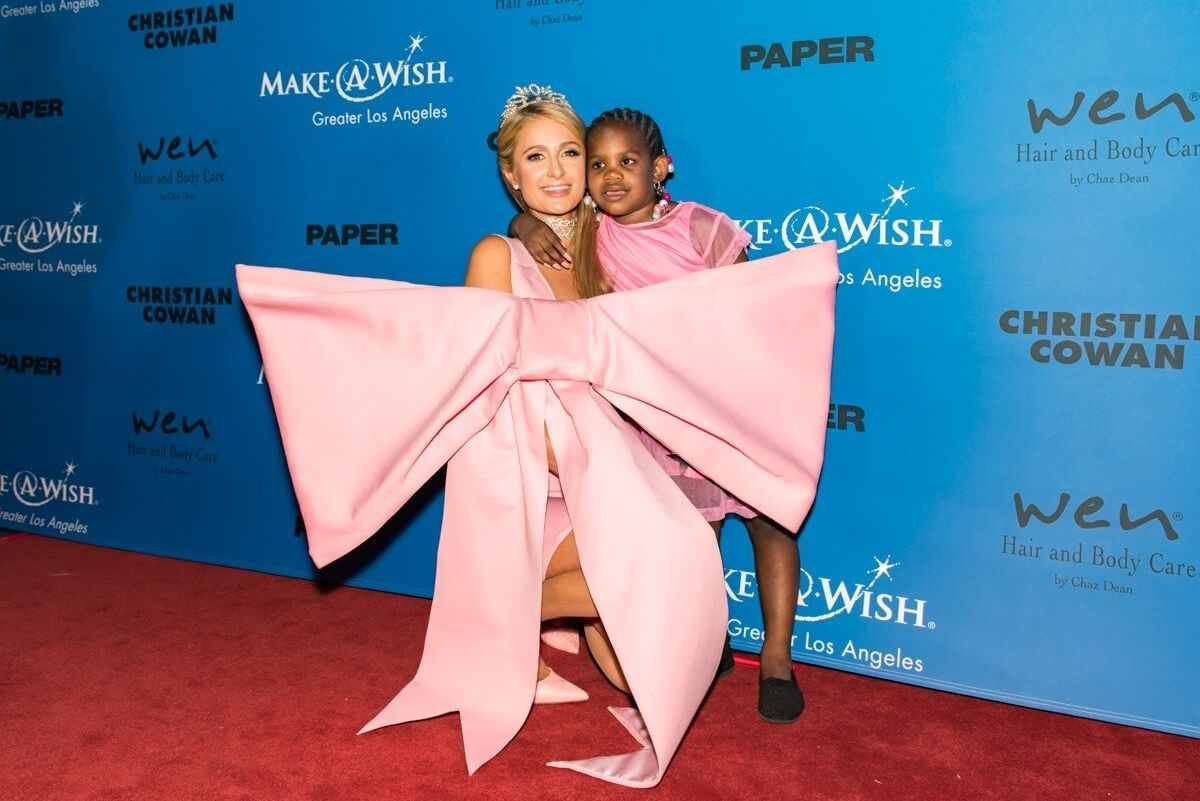 Celebs Model Designer Christian Cowan for Make-A-Wish