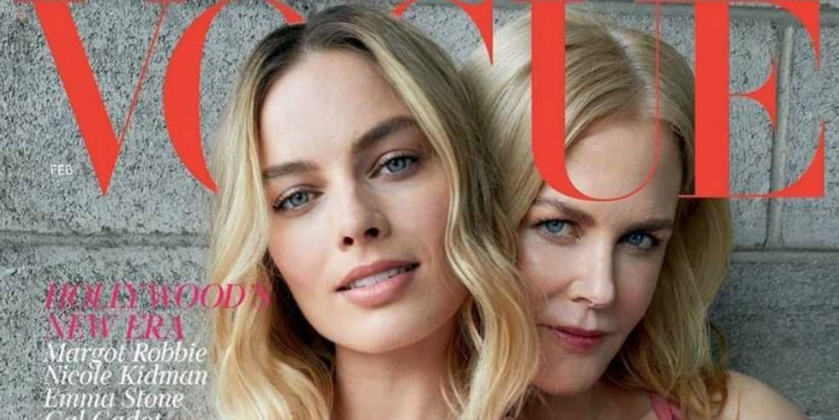 New British Vogue Cover Has the Industry Scratching Its Head