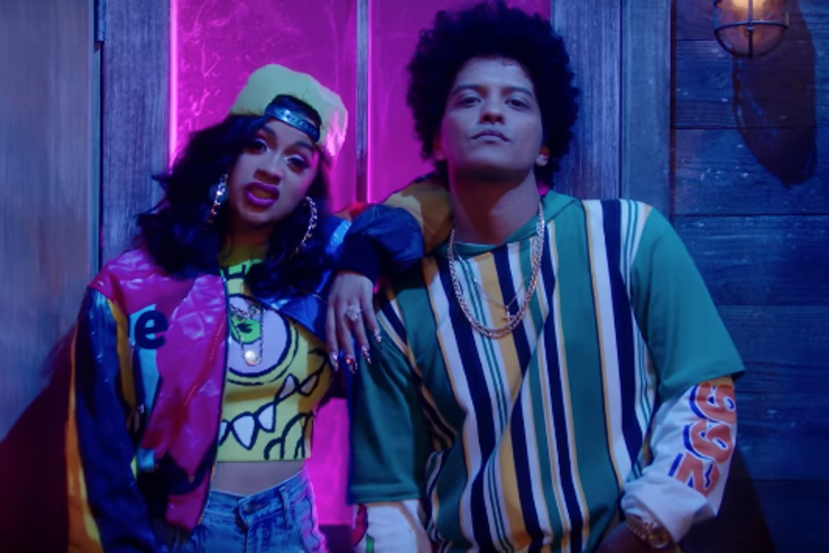 Bardi Time: Cardi B and Bruno Mars Drop Surprise 'Finesse' Video
