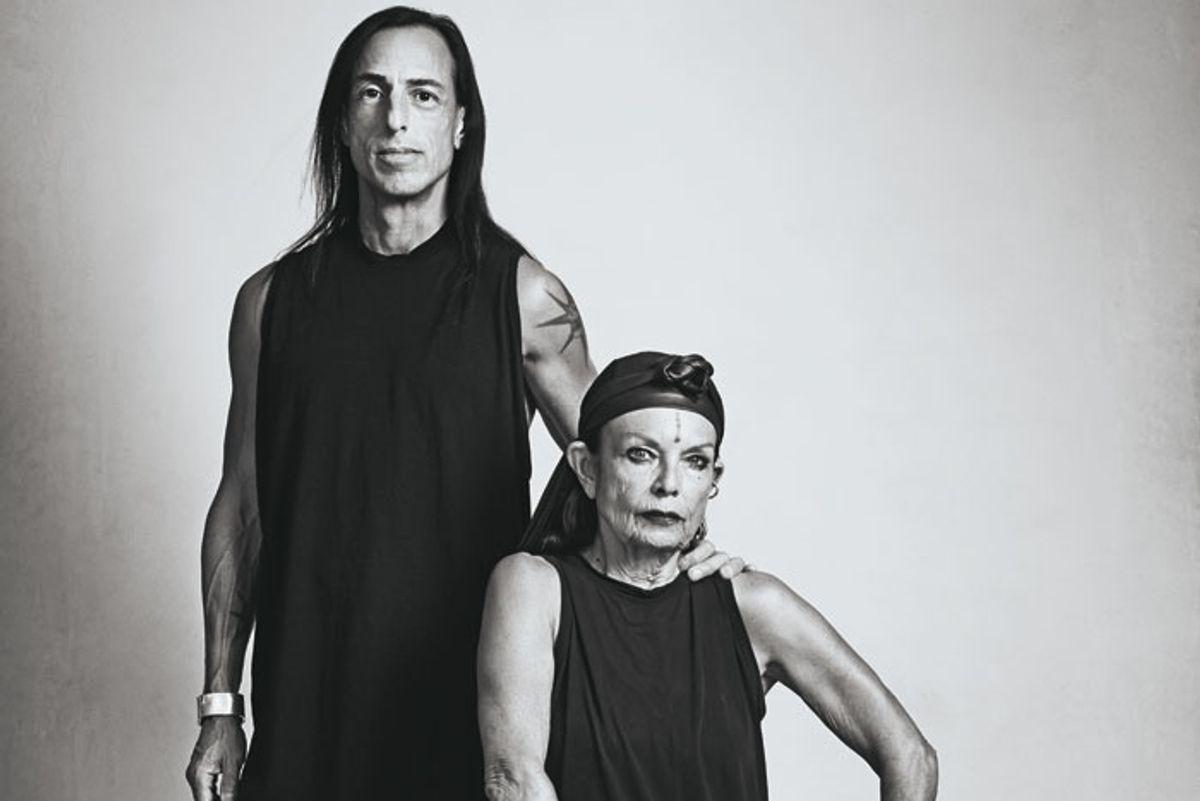 Rick Owens & Michele Lamy: Fashion's Dark Priest and Priestess