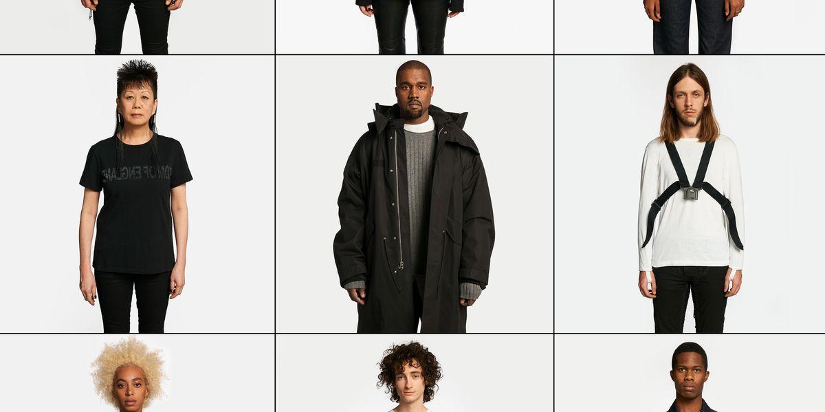 Kanye West, Solange Star in Helmut Lang's Latest Project