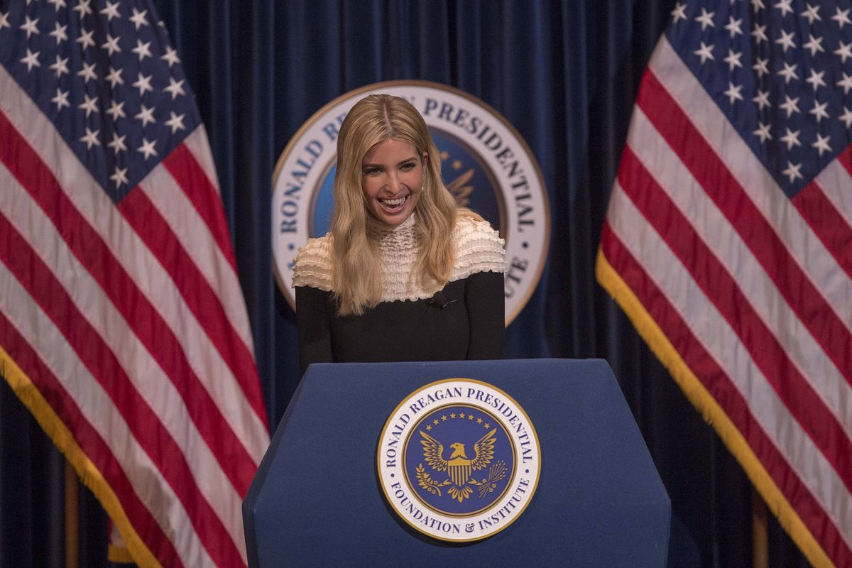 Ivanka Trump Had a Secret Plan to Become President