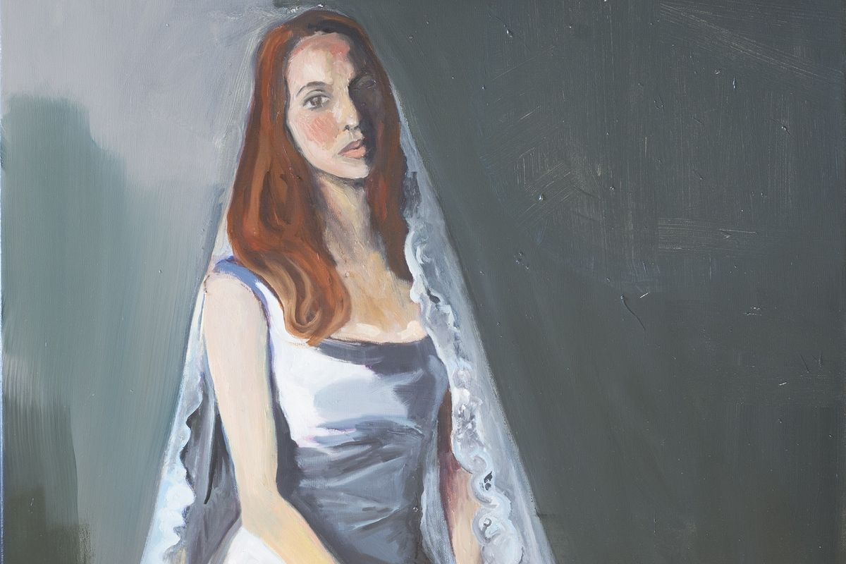 Jemima Kirke's Paintings Question Marriage in New Solo Exhibition