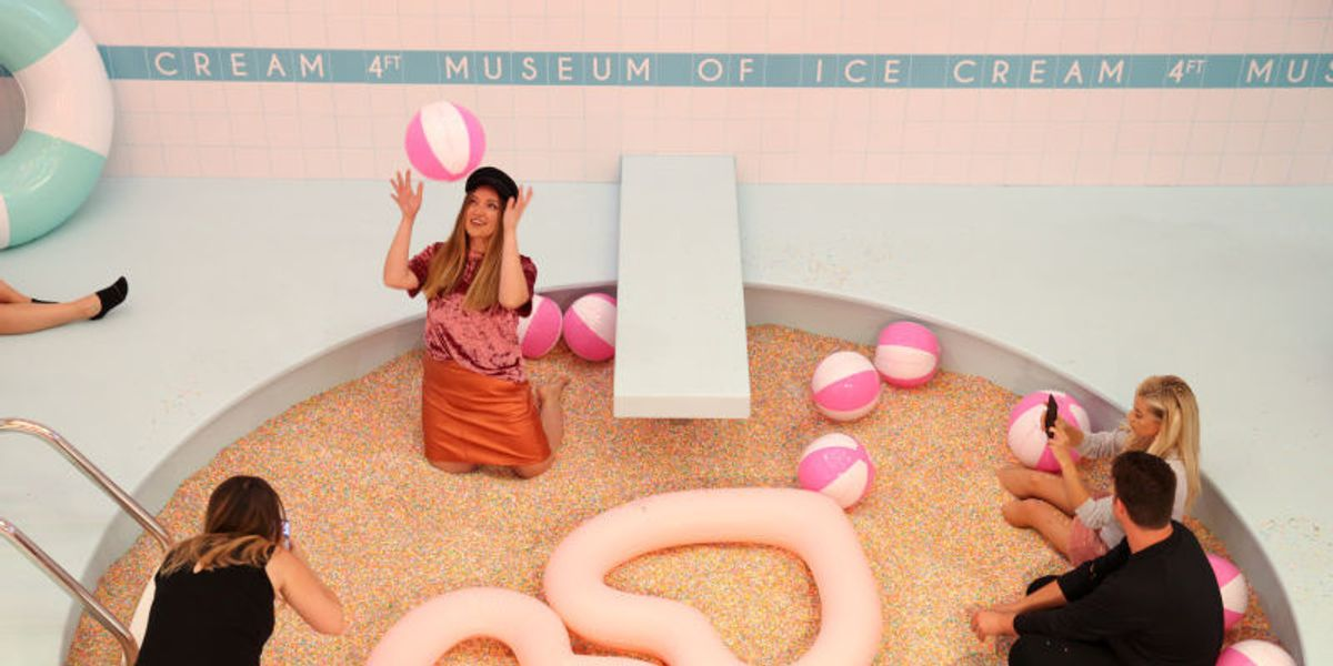 The Museum of Ice Cream is Messy As Hell for the Environment