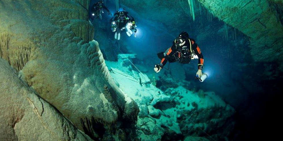 Scientist at Work: I've Dived in Hundreds of Underwater Caves Hunting for New Forms of Life